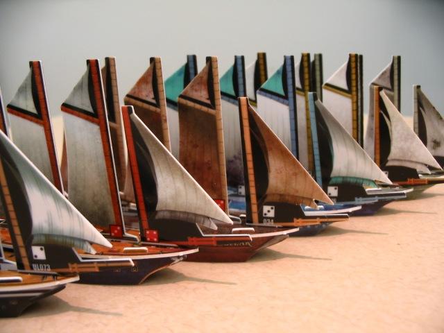 4 masted schooners